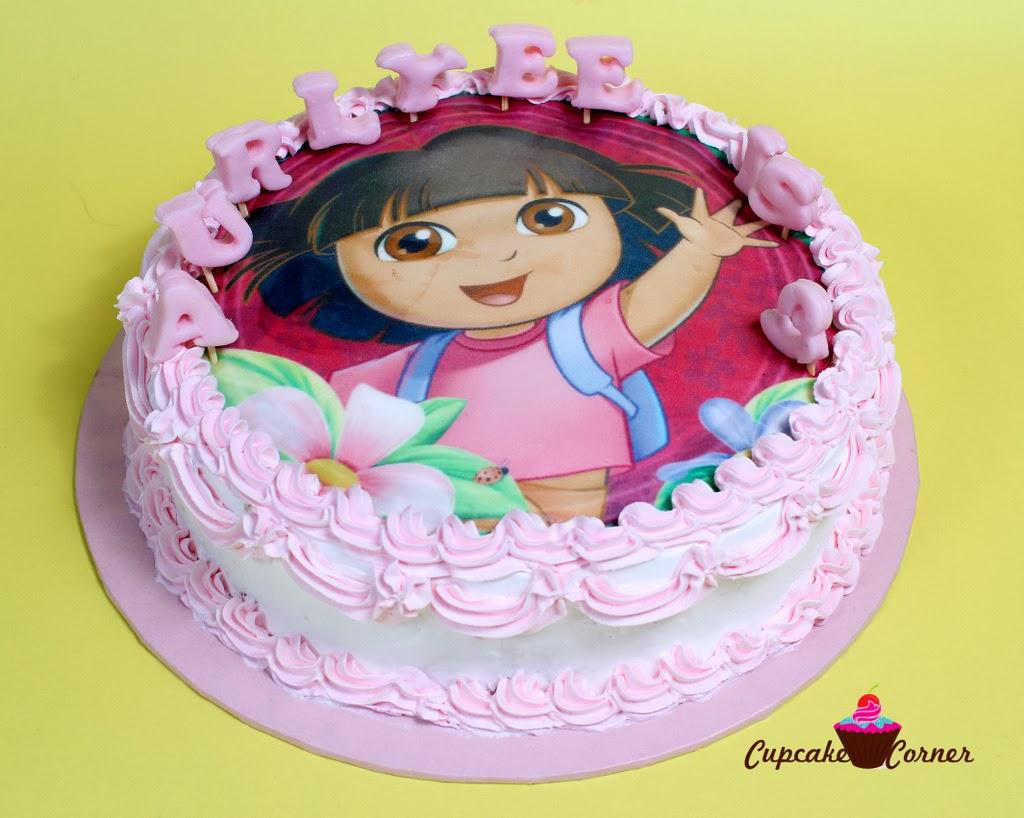 Dora Explorer Birthday Cake