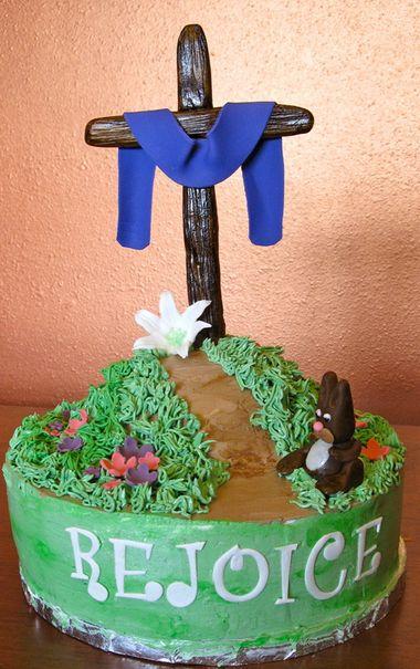 Easter Cross Cake Ideas