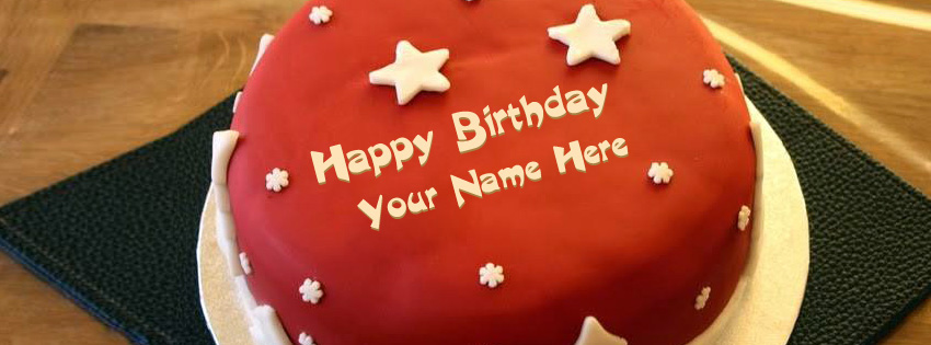 Facebook Birthday Cakes with Names
