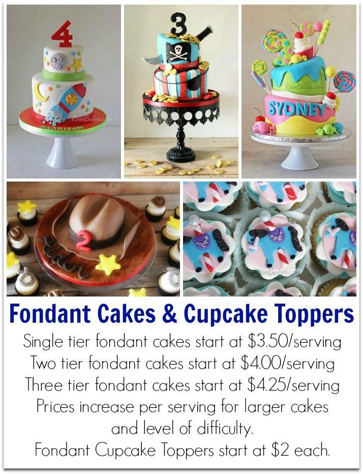 Fondant Cake Prices