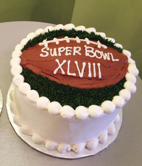 Football Layer Cake