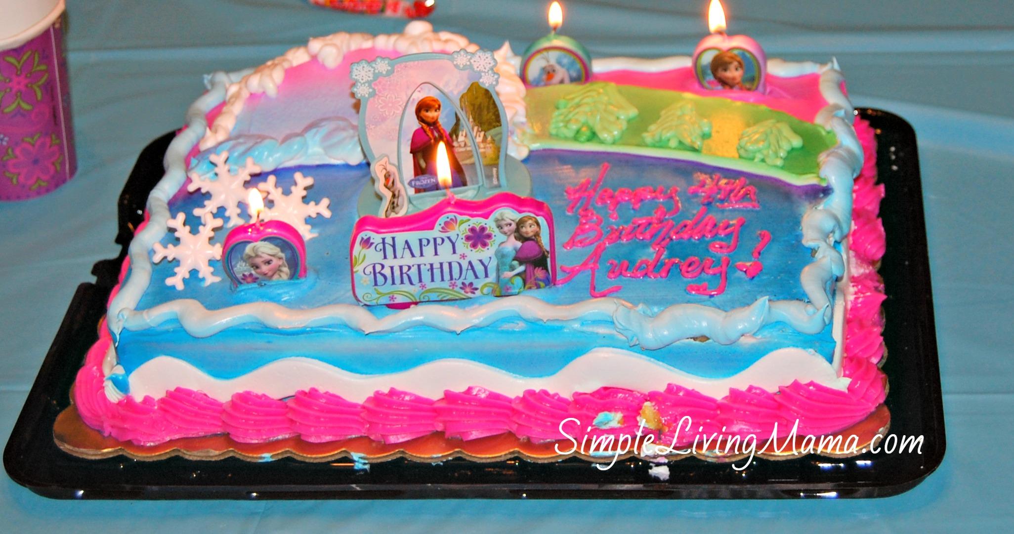 Frozen Birthday Cakes at Kroger