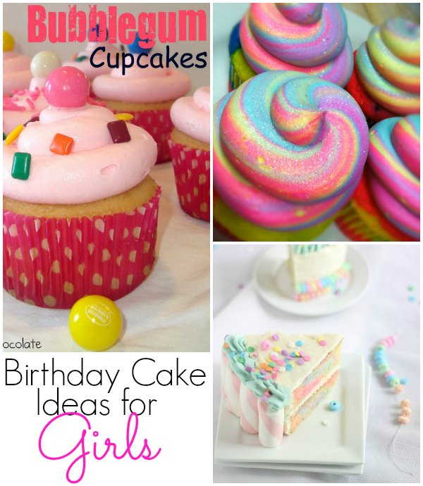 Girls Birthday Cake Ideas for Kids