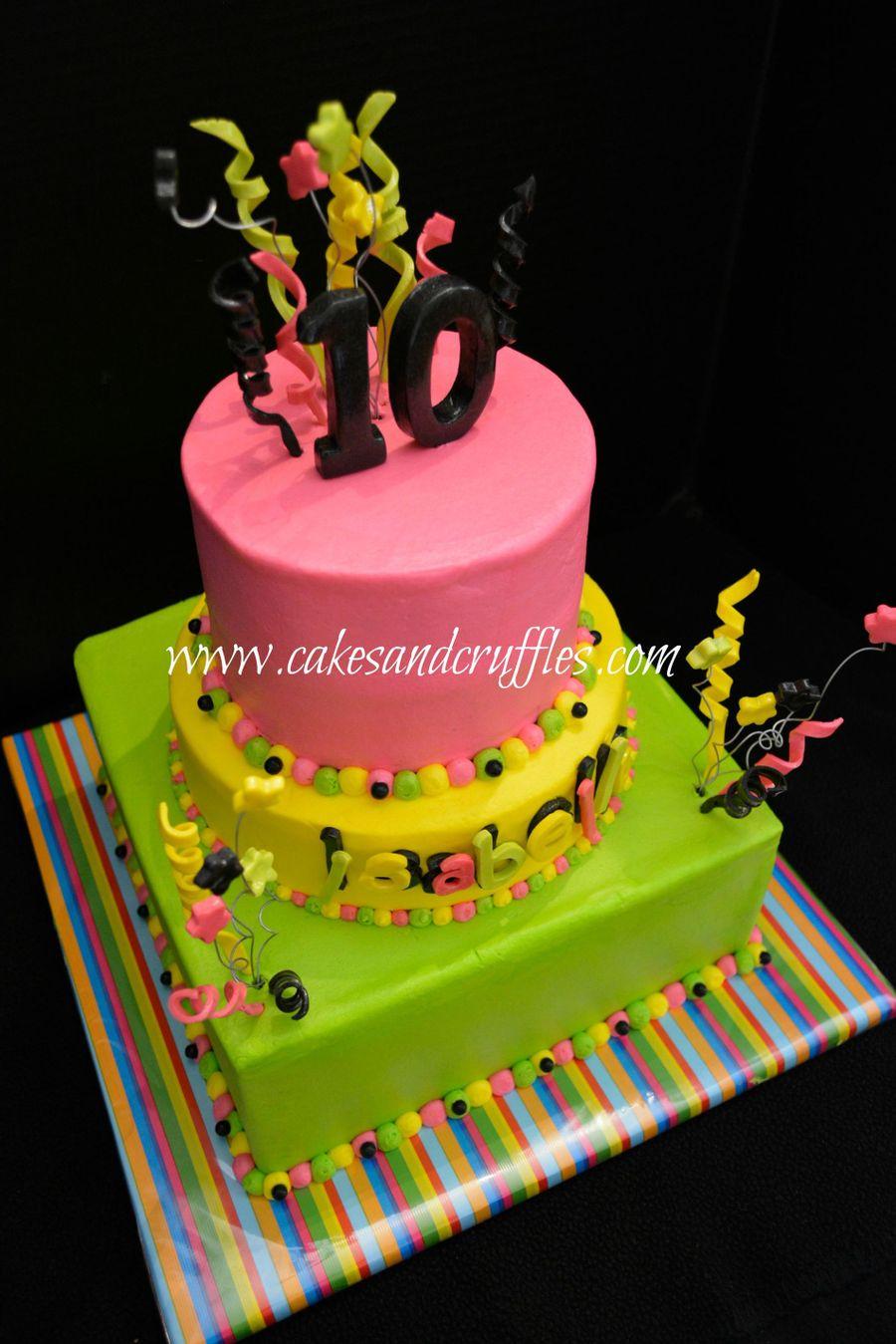 Glow in the Dark Cake Decorations
