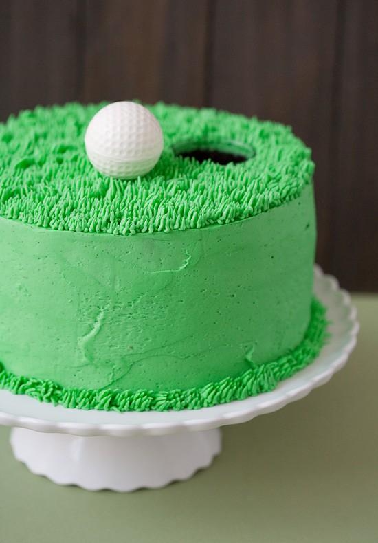 Golf Cake Idea
