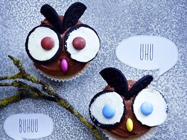 Halloween Cupcake Ideas with Oreos