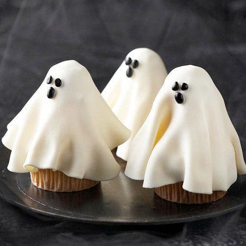 Halloween Ghost Cupcake Recipes Ideas