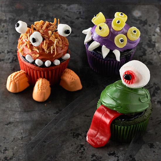 11 Photos of BHG Spooky Halloween Cupcakes