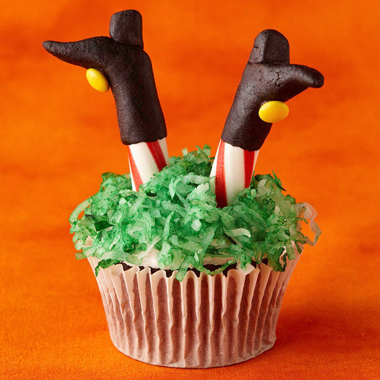 Halloween Witch Cupcake Ideas
