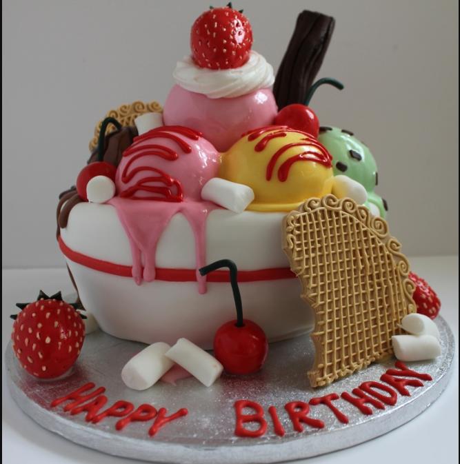 Happy Birthday Paul Cake Ice Cream