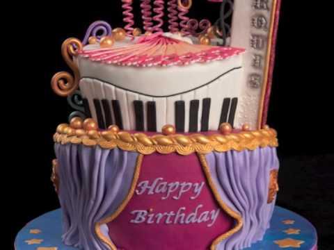 Happy Birthday Theater Cake