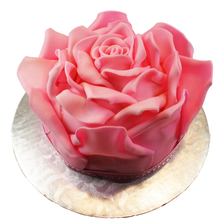 How to Make Cake Roses 3D