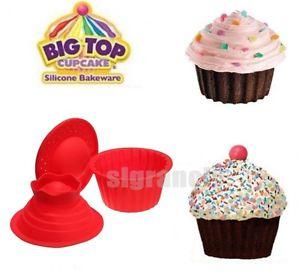 Jumbo Giant Silicone Cupcake Mold
