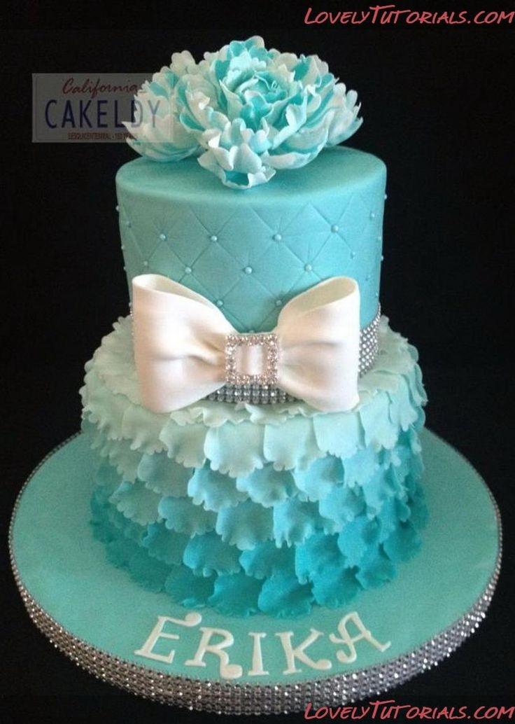 Layered Birthday Cakes for Teen Girls