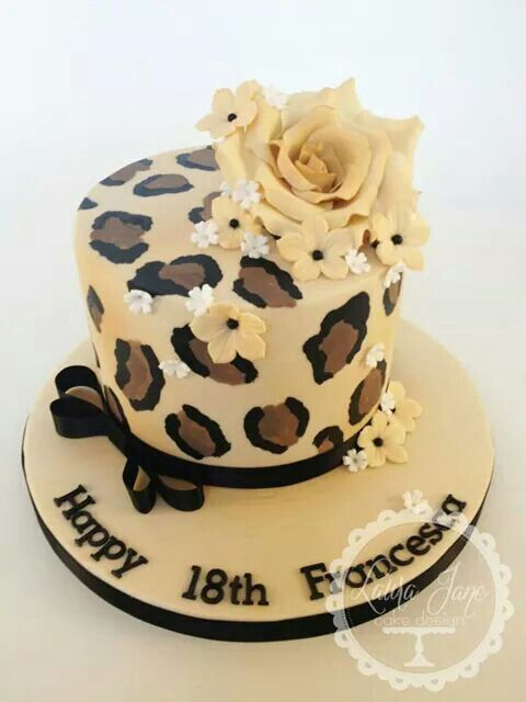 Leopard Print Cake Ideas
