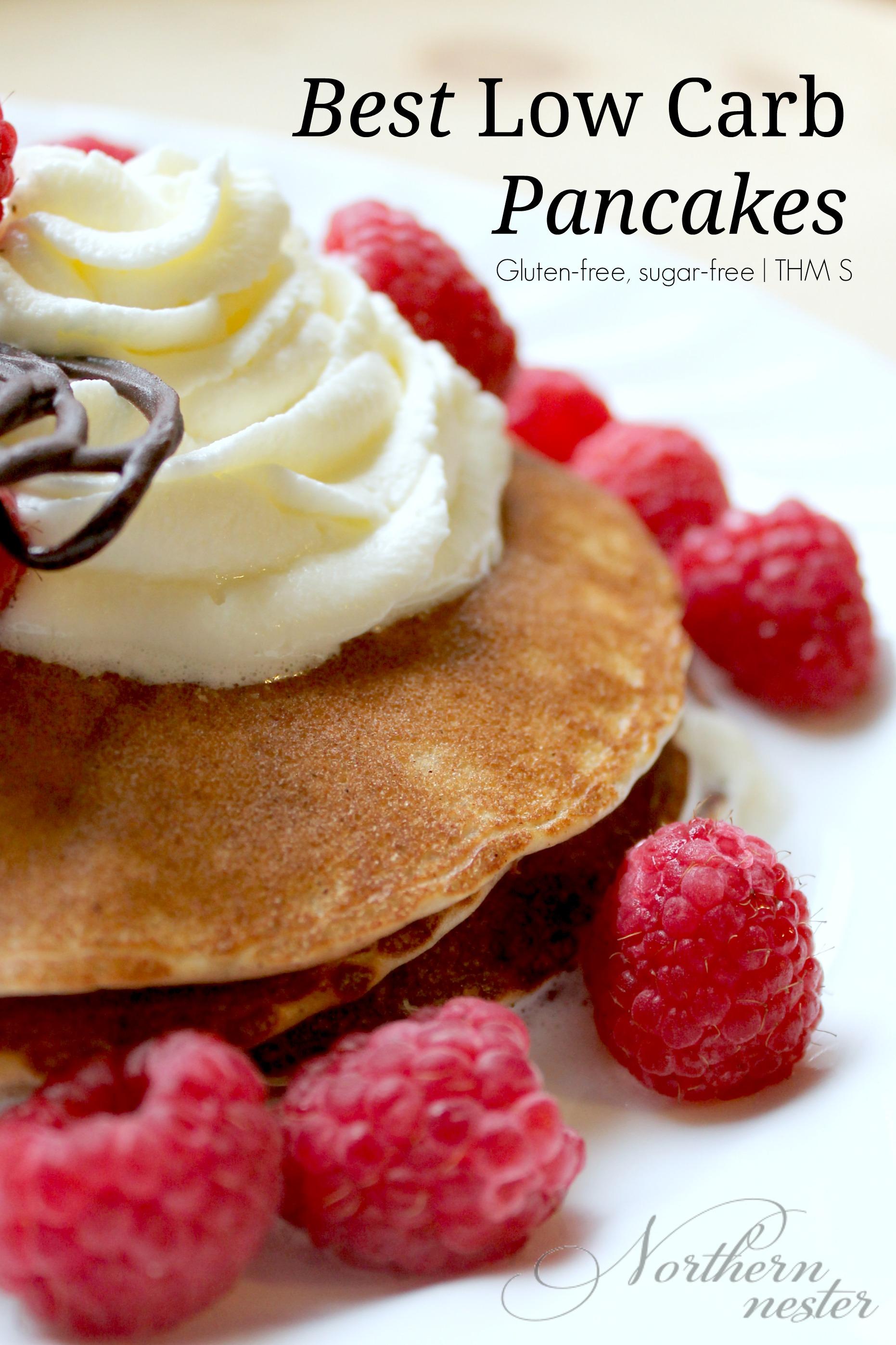 Low Carb Pancake Recipe
