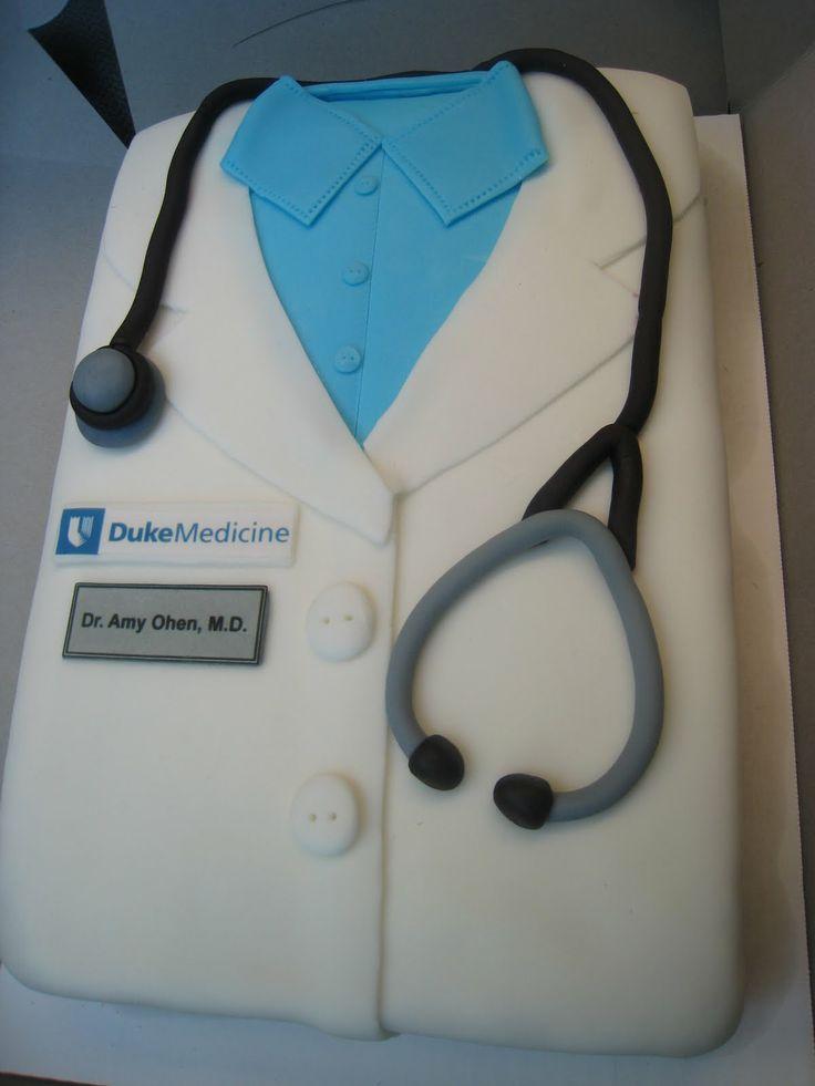 Med School Graduation Cake
