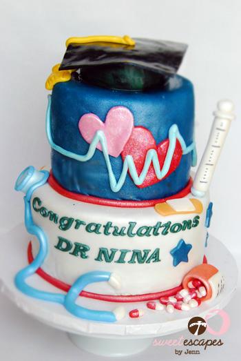 5 Photos of Medical School Graduation Cupcakes
