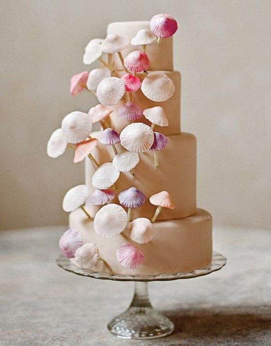 Mushroom Wedding Cake