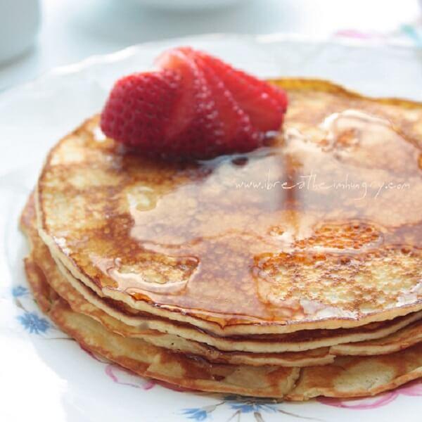 No Carb Pancakes Cream Cheese