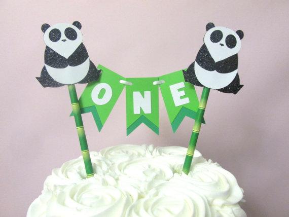 Panda Bear Birthday Cake Ideas