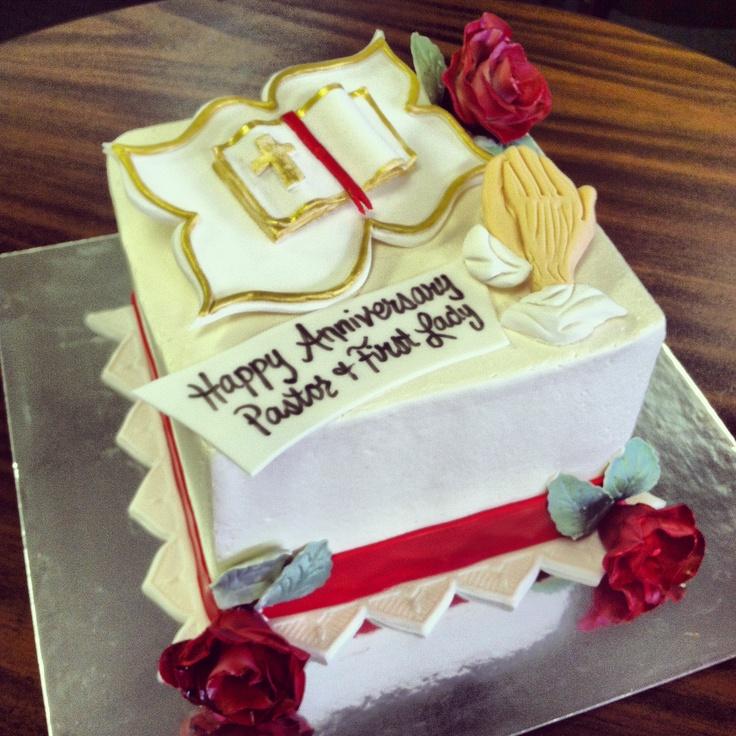 Pastor Anniversary Cake Ideas