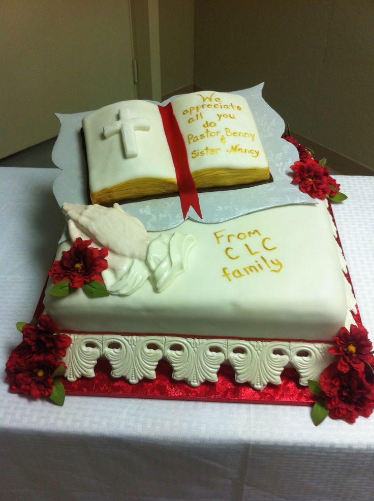 Pastor Appreciation Bible Cake
