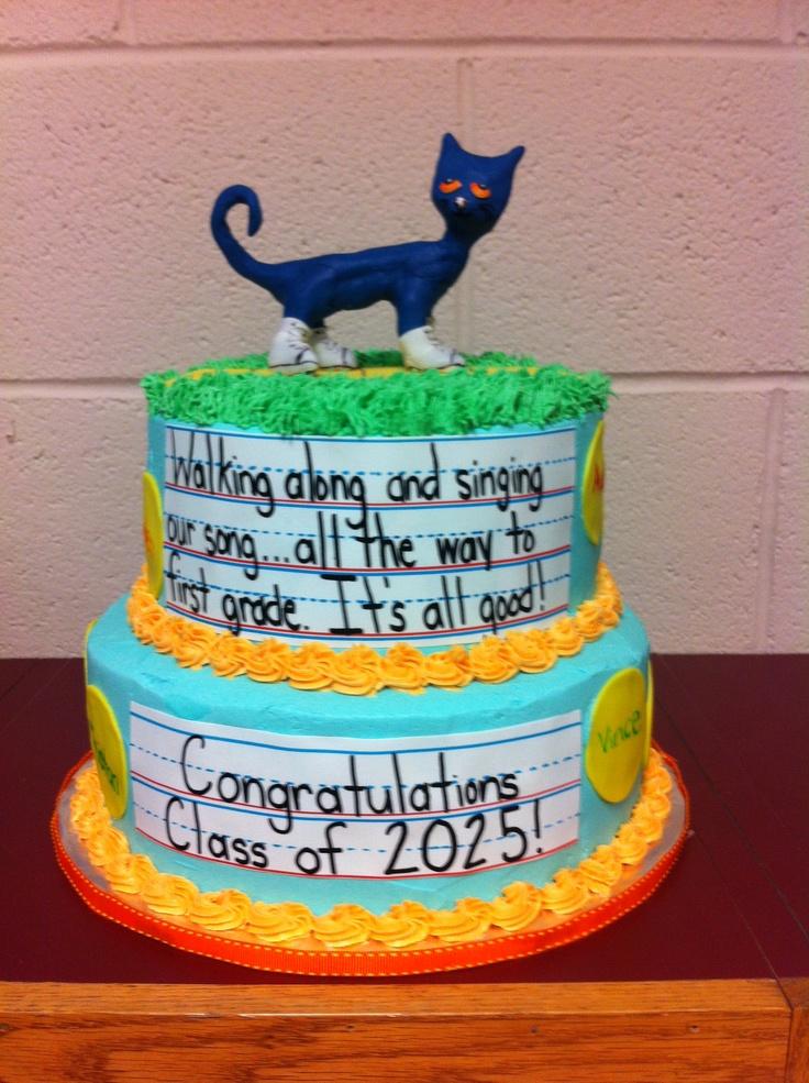 Pete the Cat Preschool Graduation Ideas