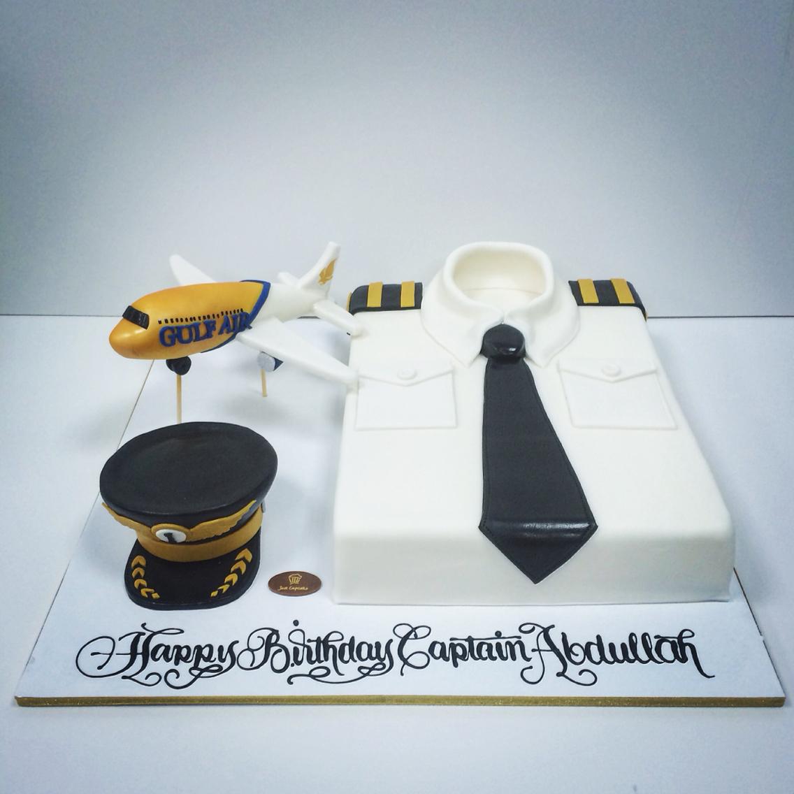 Pilot Retirement Cake