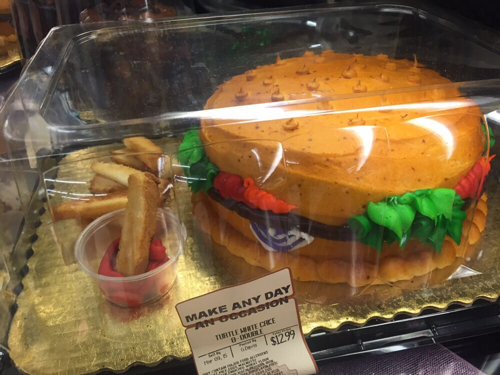 Save Mart Cakes