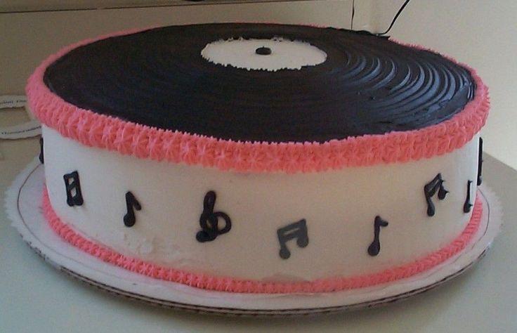 6 Photos of Record Cakes Buttercream