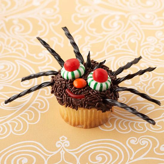 Spider Halloween Cupcake Ideas