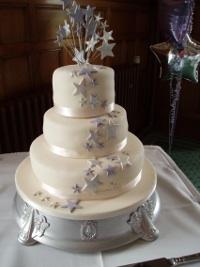 Star Wedding Cake
