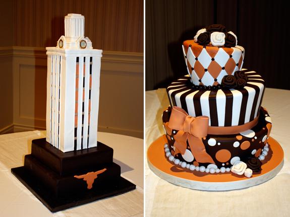 Texas Longhorns Wedding Cake