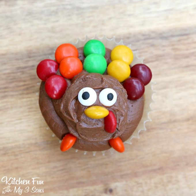 Thanksgiving Turkey Cupcakes Recipe Easy