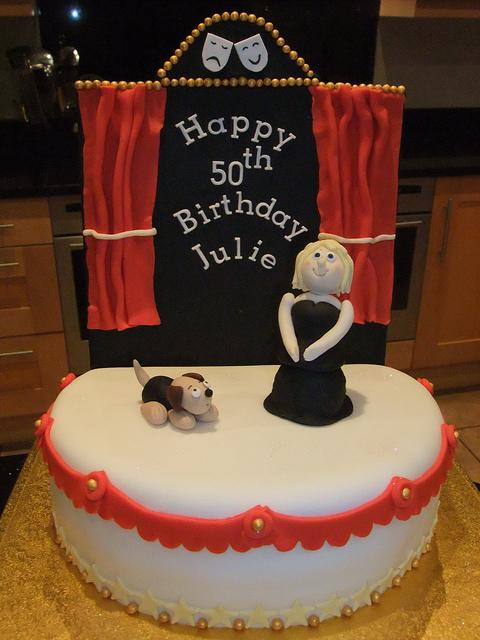 Theater Stage Birthday Cake
