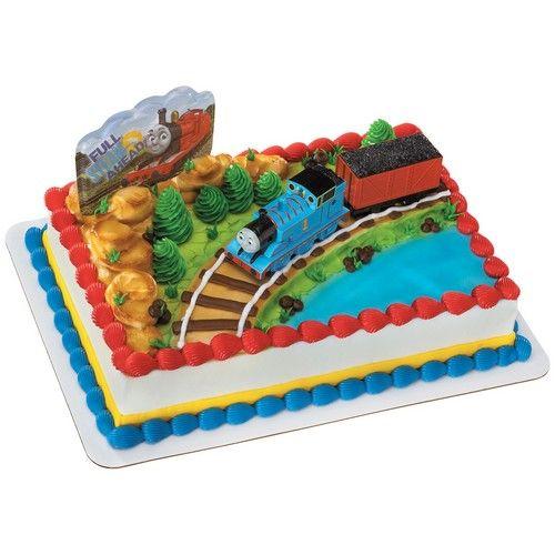 Thomas the Train Coal Car Cake