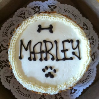 Three Dog Bakery Birthday Cake