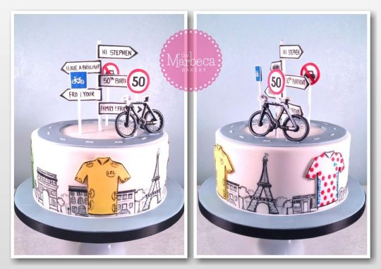 13 Photos of France Themed Cakes