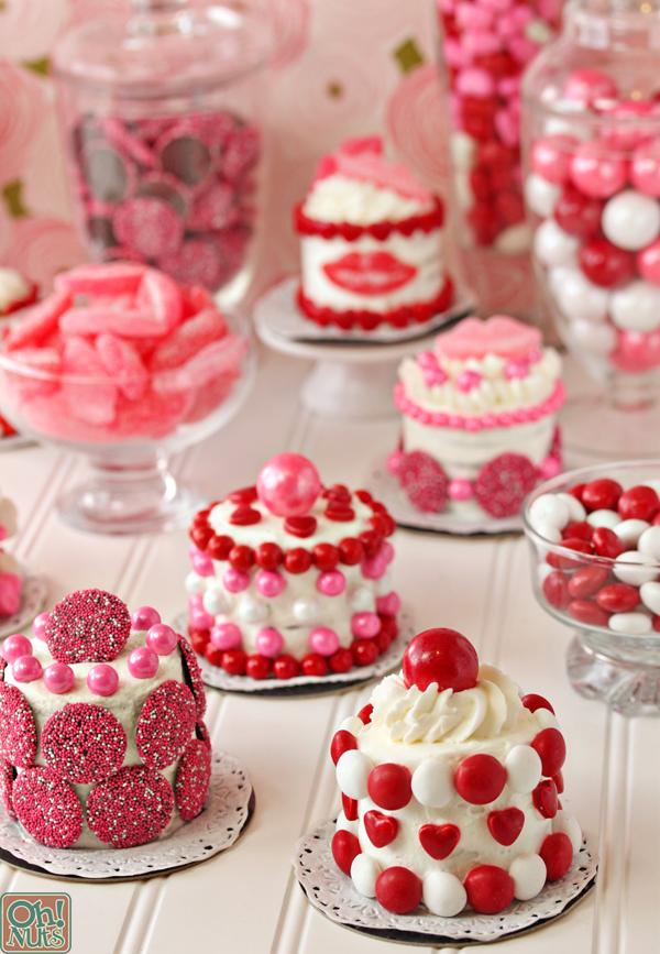 8 Photos of Small Valentine Chocolate Cakes