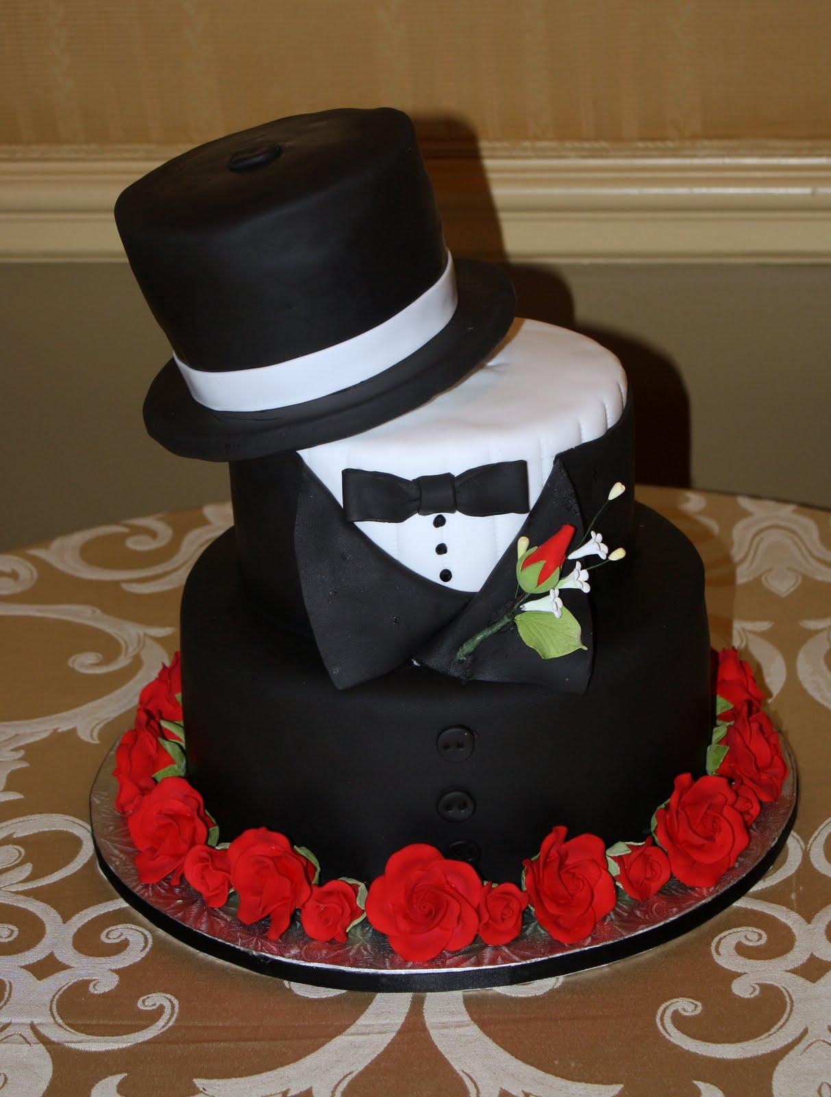 Wedding Top Hat Grooms Cake Ideas