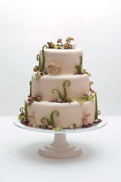 Woods Y Wedding Cake