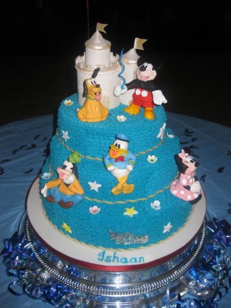 3 Tier Disney Cake