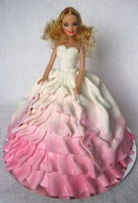 Barbie Doll Cake Decoration