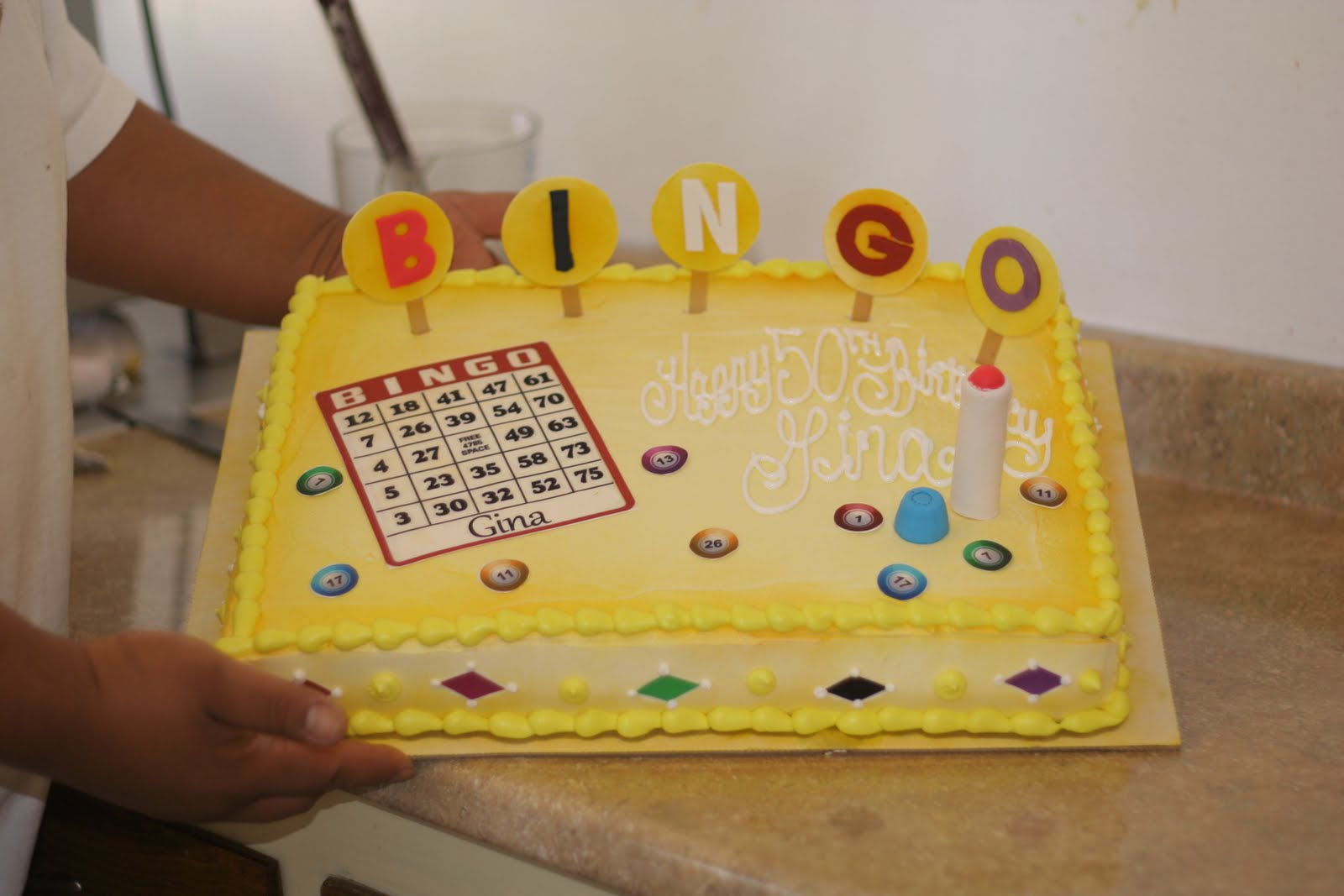 Bingo Birthday Cake Ideas