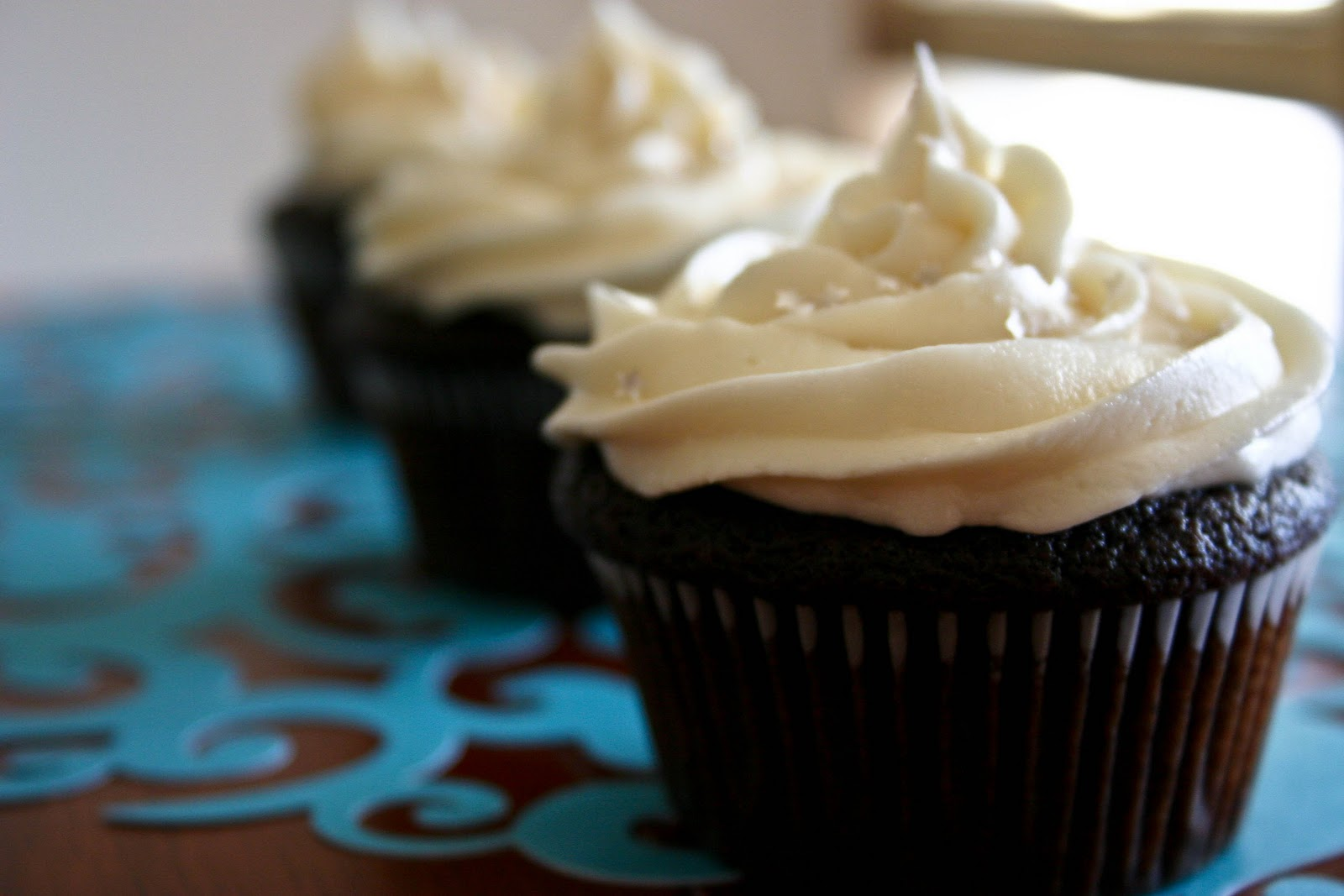 Chocolate Cupcakes with Ganache Filling Recipe