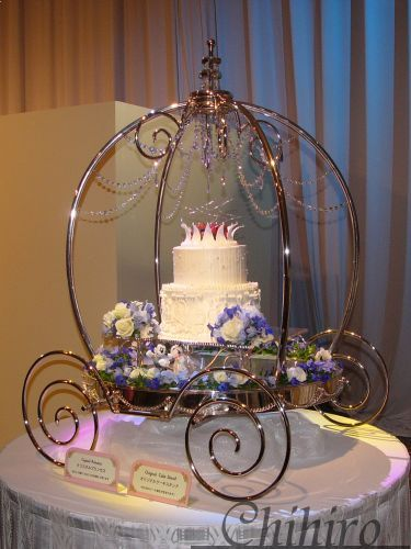Cinderella Wedding Cake Stand