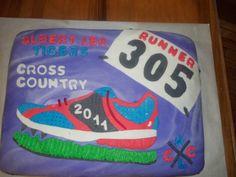 Cross Country Graduation Cake Ideas