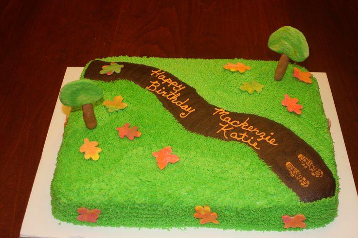 Cross Country Runner Cake