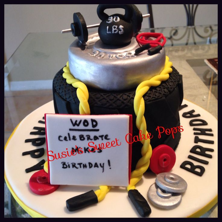 CrossFit Birthday Cake Ideas